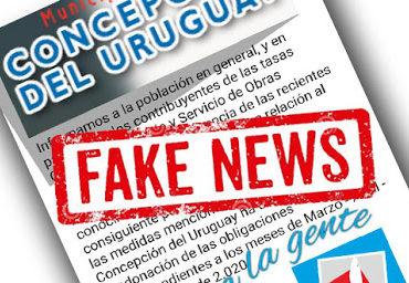 Fake No pago impuestos concepcion